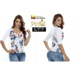 Blusa fashion BL4083BL