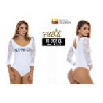 Body reductor BD3102BL blanco