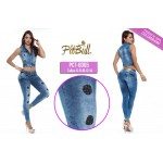 Conjunto vaquero push up CTP6065