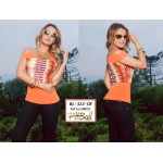 Blusa colombiana BL322-cr