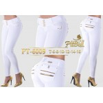 Pantalón colombiano push up 6009BL